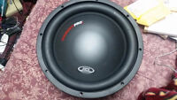 "MTX 12"" 1000 watts MAX / 500 RMS Car Subwoofer (TP2/12-04)"