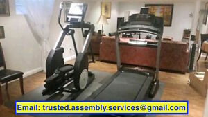 home gym, treadmill, and elliptical assembly / dismantling Oakville / Halton Region Toronto (GTA) image 3