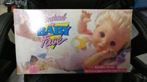 Vintage Bathtub Babyface doll brand new