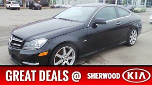 2012 Mercedes-Benz C-Class 4MATIC COUPE Special - Was $28995 $20