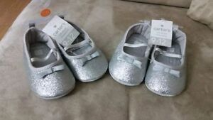 Girls brand new crib shoes