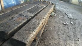 Railway sleepers (reclaimed amd new)