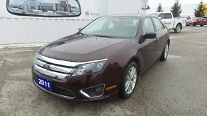2011 Ford Fusion SEL, Lthr, Moonroof, Local Trade