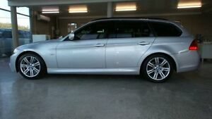 2010 BMW 323I E91 MY10 Titan Silver 6 Speed Automatic Wagon Burleigh Waters Gold Coast South Preview