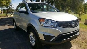 2015 Ssangyong Korando C200 MY14 Update S Silent Silver 6 Speed Manual Wagon Tuggerah Wyong Area Preview