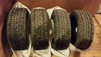 [205/50 17's] Studded Winter Tires For Sale!