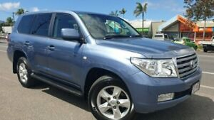 2010 Toyota Landcruiser VDJ200R MY10 Sahara Blue 6 Speed Sports Automatic Wagon Bungalow Cairns City Preview