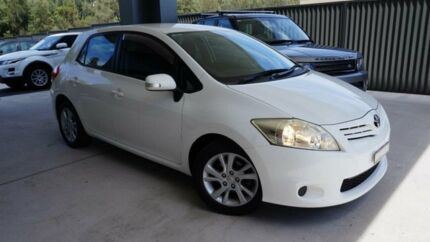 2009 Toyota Corolla ZRE152R MY09 Ascent White 4 Speed Automatic Hatchback Port Macquarie Port Macquarie City Preview