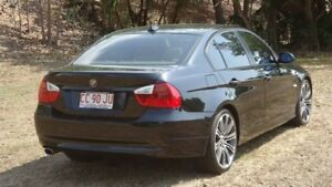 2008 BMW 320i E90 MY08 Executive Steptronic Black 6 Speed Sports Automatic Sedan