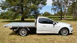 2013 Ford Falcon FG MkII EcoLPi Super Cab White 6 Speed Sports Automatic Cab Chassis Tanunda Barossa Area Preview