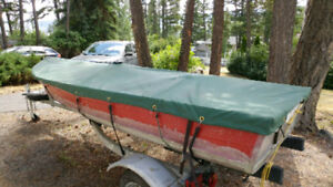 12' trailering boat cover