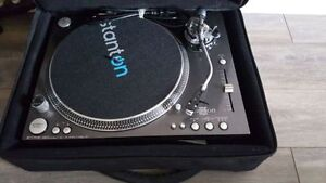 Stanton ST150 STR8.150 Turn Table S-Tone Arm for DJ Comme neuf