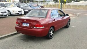 2005 Mitsubishi Lancer CH ES Red 4 Speed Automatic Sedan Victoria Park Victoria Park Area Preview