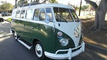 1966 Volkswagen Kombi Split Window Microbus Green Manual Wagon Burwood Burwood Area Preview