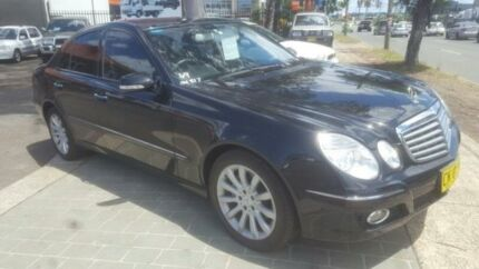 2007 Mercedes-Benz E350 211 MY07 Upgrade Elegance Black 7 Speed Automatic G-Tronic Sedan Revesby Bankstown Area Preview