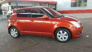 2008 Suzuki Swift RS415 S Red 4 Speed Automatic Hatchback Lidcombe Auburn Area Preview