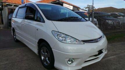 2005 Toyota Tarago White Automatic Wagon Greenacre Bankstown Area Preview