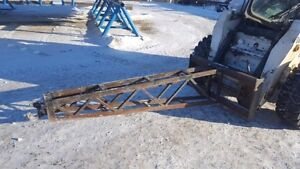 JIB BOOM POLE ATTACHMENT FOR SKIDSTEER / SKID STEER