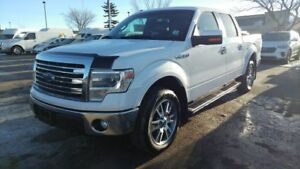 2014 Ford F-150 SUPERCREW LARIAT 4X4 Accident Free,  Navigation