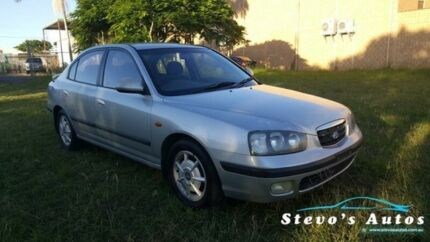 2001 Hyundai Elantra XD GL Silver 5 Speed Manual Sedan