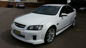 2010 Holden Commodore VE MY10 SS White 6 Speed Automatic Sedan Georgetown Newcastle Area Preview