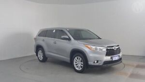2015 Toyota Kluger GSU55R GX AWD Silver Sky 6 Speed Sports Automatic Wagon Perth Airport Belmont Area Preview