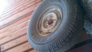 """Two 15"""" tires (2 widths)"""