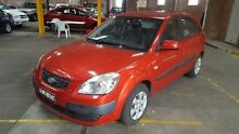2009 Kia Rio JB LX Red 5 Speed Manual Hatchback Georgetown Newcastle Area Preview