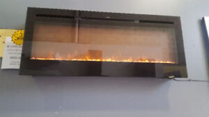 SINKS AND ELECTRIC FIREPLACE