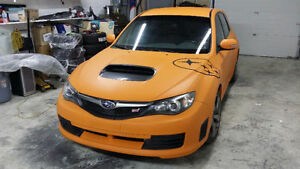 3M, Avery, Hexis vinyl HOOD wrap (MATTE, GLOSS, or Carbon Fiber) Kitchener / Waterloo Kitchener Area image 1