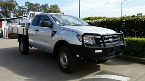 2013 Ford Ranger PX XL Super Cab 4x2 Hi-Rider Silver 6 Speed Sports Automatic Cab Chassis Acacia Ridge Brisbane South West Preview