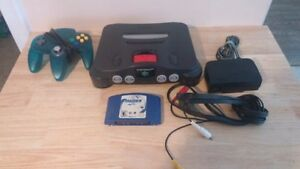Nintendo 64 With A Controller, Expansion Pack And Game!