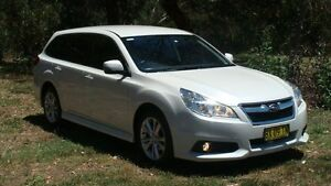 2013 Subaru Liberty B5 MY14 2.5i Lineartronic AWD White 6 Speed Constant Variable Wagon Oaks Estate Queanbeyan Area Preview