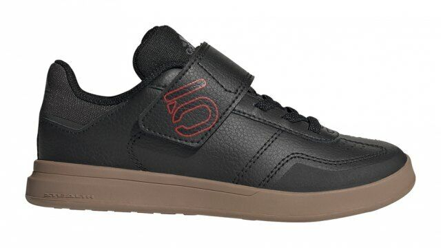 Five Ten Sleuth DLX CF K Core Black / Scarlet / Grey Four - Kids Cycling Shoes
