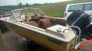 Older project boat & trailer