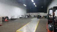 Commericial Warehouse For Rent