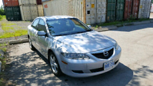 2005 Mazda 6 **Only 111,000 kms**