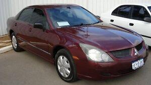 2003 Mitsubishi Magna TJ Executive Burgundy Red 4 Speed Auto Sports Mode Sedan Northam Northam Area Preview