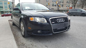 2008 Audi A4 Quattro S4 All wheel Dr Sedan