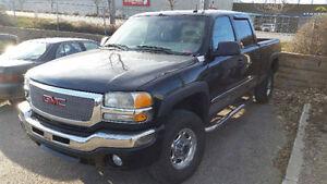 2003 GMC DURAMAX CREW SIERRA 2500HD SLT LB7 LOADED HEATED LEATHR