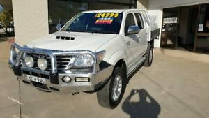 2011 Toyota Hilux KUN26R MY10 SR5 Glacier White 4 Speed Automatic Utility Macksville Nambucca Area Preview