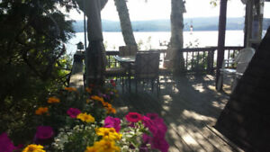 Relax at Lakeside! Chalet Owls Head Hot Tub Eastern Townships