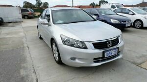 2009 Honda Accord 8th Gen V6 Luxury Silver 5 Speed Sports Automatic Sedan St James Victoria Park Area Preview