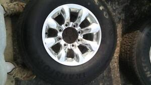 245/75 R15 tires and rims