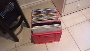 Milk Crates for Records