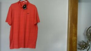 """NIKE TIGER WOODS COLLECTION """"DRI-FIT"""" GOLF POLO Shirt"""