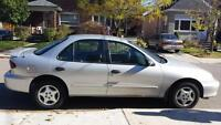 2002 Chevrolet cavalier certified and emission tested