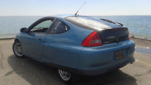 WANTED: 2001 Honda Insight Coupe (2 door) Light blue