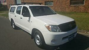 2007 Toyota Hilux SR White 5 Speed Manual Dual Cab Pick-up Revesby Bankstown Area Preview