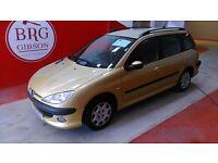 Peugeot 206 1.4 S (yellow) 2005